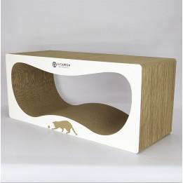 CONTUR MAX 32 см  Когтеточка домик для кошек из картона