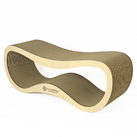 INFINITY STANDART wood 24 см Когтеточка из картона