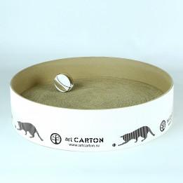 RING 41 см  Круглая когтеточка из картона